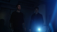 Nate Heywood and Oliver Queen find and talk Mick Rory (3)
