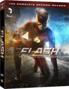 The Flash - The Complete Second Season region 1 cover