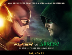 The Flash vs Arrow fan screening promo.png