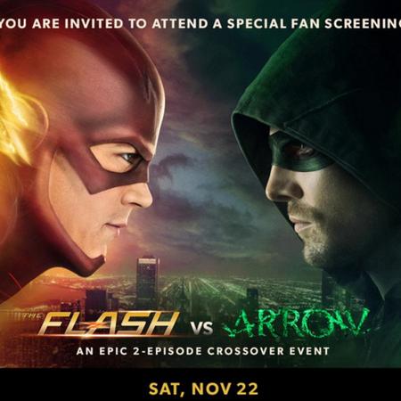 The Flash vs Arrow fan screening promo.png