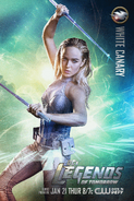 White Canary DC's Legends of Tomorrow promo