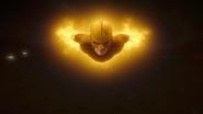 Flash i The Ray niszczą Red Tornado (4)