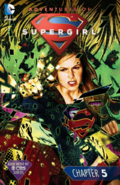 Adventures of Supergirl chapter 5 full cover