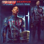 James Olsen's Earth-X doppelgänger Greg Hopwood Concept Art