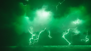 Speed Force being infected by Spectre energy