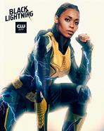 BlackLighting - Season 2 - Poster Thunder
