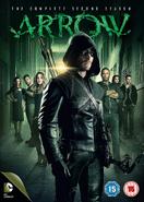 Arrow - The Complete Second Season region 2 cover