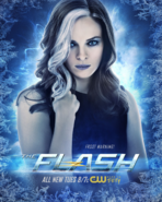 The Flash season 4 poster - Frost Warning