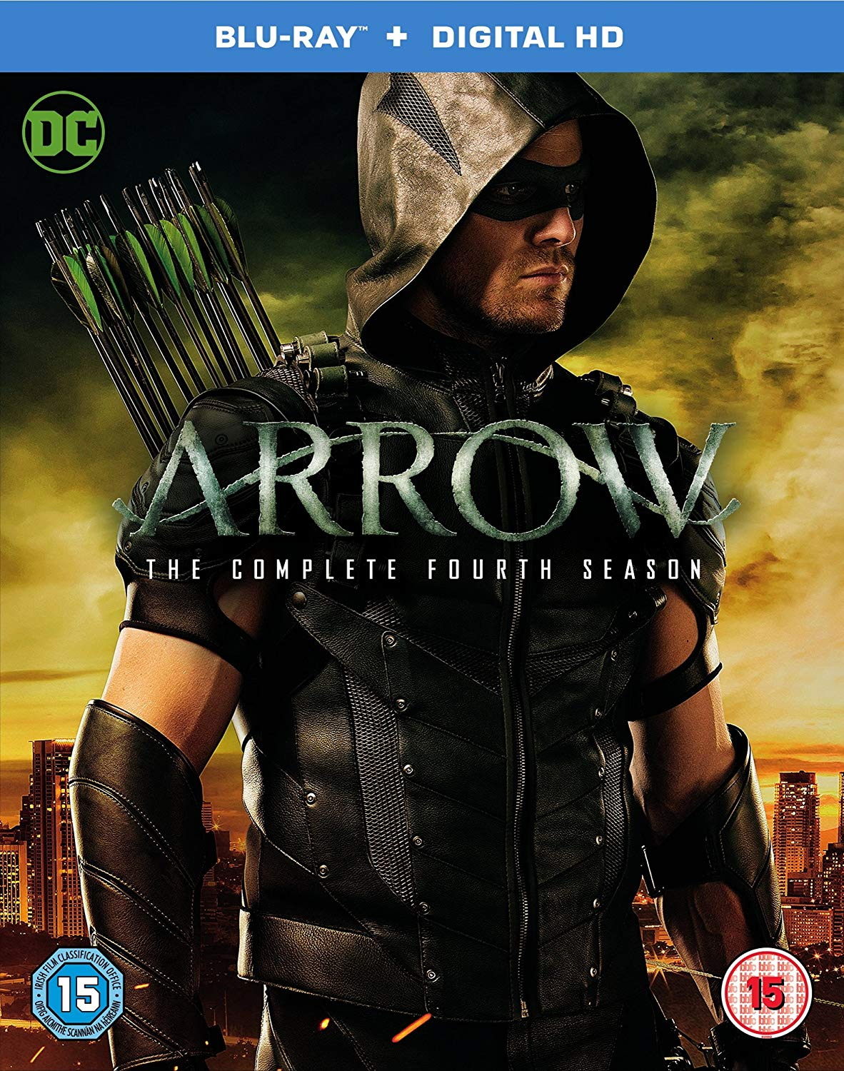 Arrow - The Complete Fourth Season region B cover.png