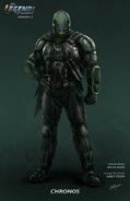 Chronos concept art-front