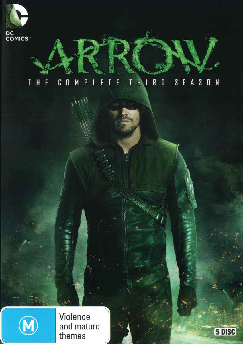 Arrow - The Complete Third Season region 4 cover.png