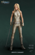 White Canary concept art
