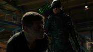 Derek Sampson and Green Arrow second fight (6)