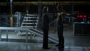 Eobard Thawne and dyning Tina McGee (2)