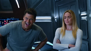Nate and Sara amused by the Firestorm mix-up.png