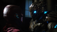 Savitar first real fight with Flash (5)