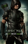 Arrow season 4 poster - Aim. Higher.