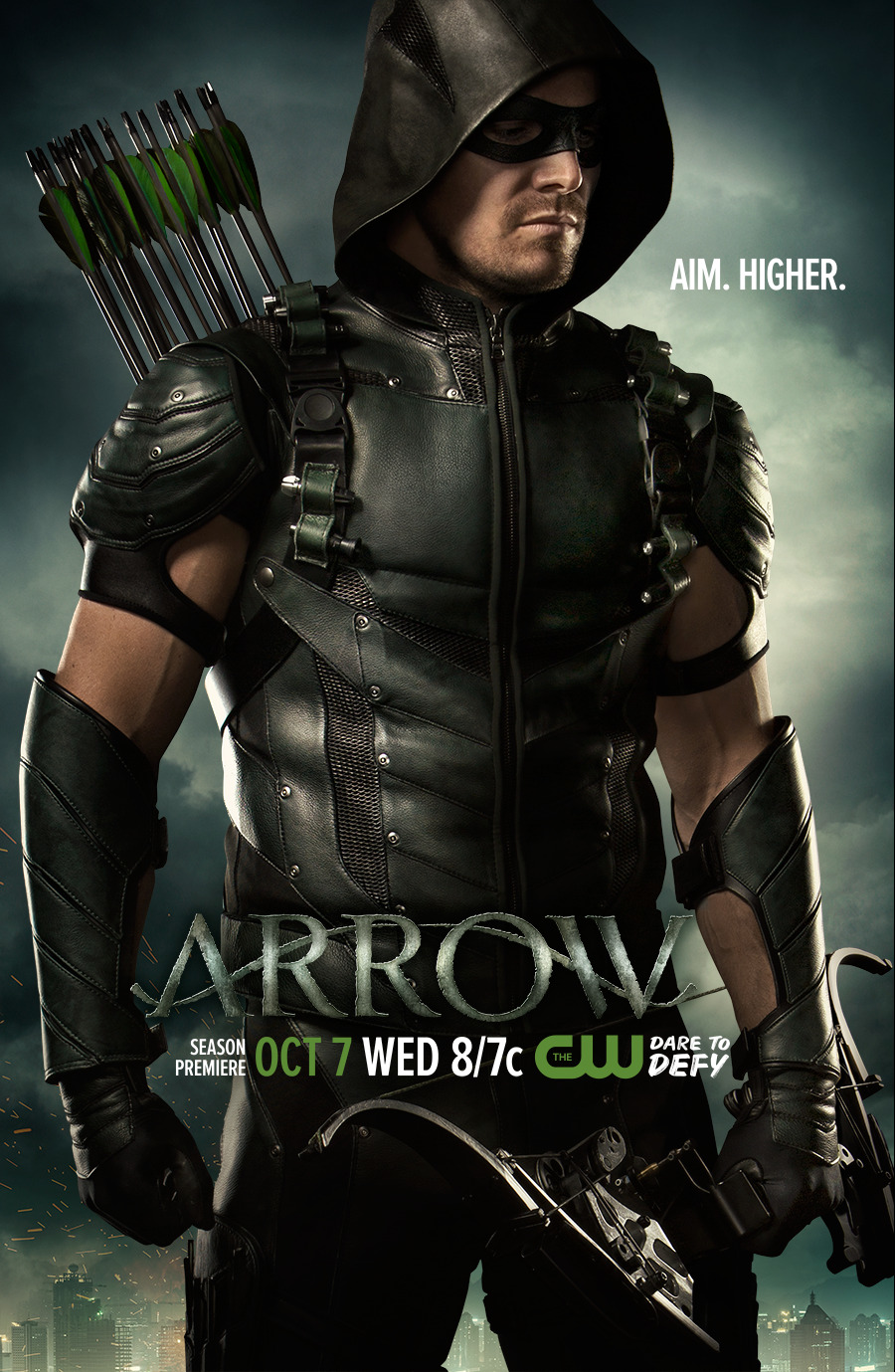 Arrow season 4 poster - Aim. Higher..png