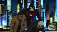 Flash save Martin and Jax befor wave Weather Wizard