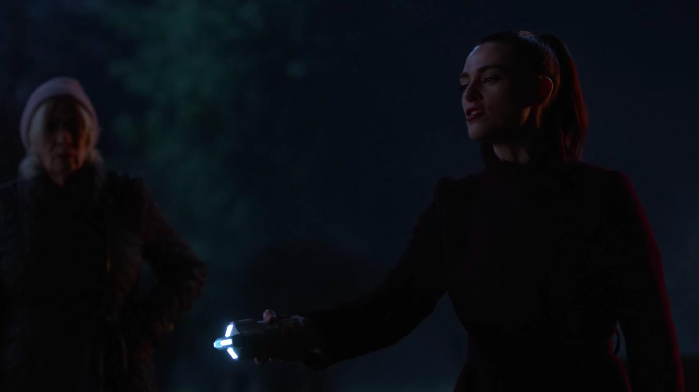 Lena Luthor's taser