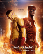 The Flash season 3 poster - Never Forget Who You Are