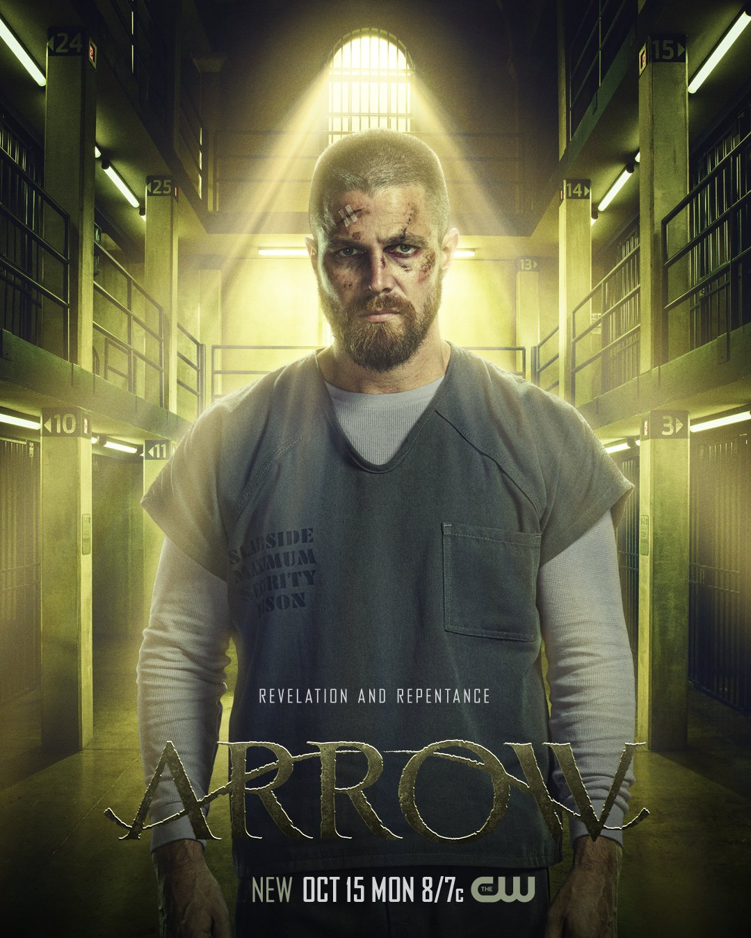 Arrow season 7 poster - Revelation and Repentance.png
