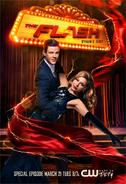 The Flash season 3 poster - Dynamic Duet