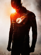 The Flash season 2 costume promotional