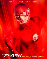 The Flash season 3 poster - New destinies. New dangers..png