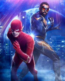 Crisis on Infinite Earths - Stream the first 3 promo 3 textless.png