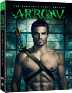 Arrow - The Complete First Season region 1 cover