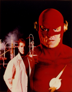 The Flash (CBS) - Barry Allen and the Flash promotional image.png