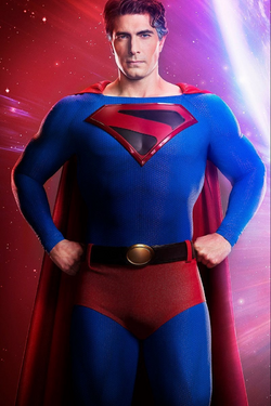 Crisis on Infinite Earths - Brandon Routh as Superman first look 1.png
