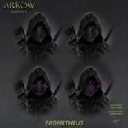 Koncept maski Prometeusza