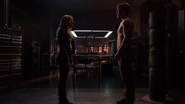 Sara Lance and Oliver Queen love in ArrowCave (2)