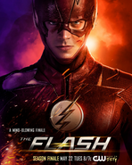 The Flash season 4 poster - A Mind-Blowing Finale