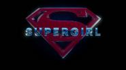 Title card da T2 de Supergirl