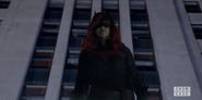 Batwoman at Batsignal rally