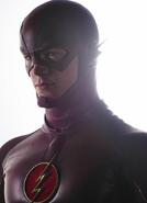 Imagem promocional de Grant Gustin como Flash (2)