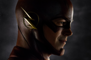 Barry Allen as The Flash - first look