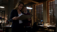 Patty Spivot receives the results of the Barry Allen (2)