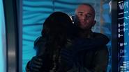 Amaya kiss Mick first time