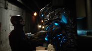 Savitar first real fight with Flash (6)
