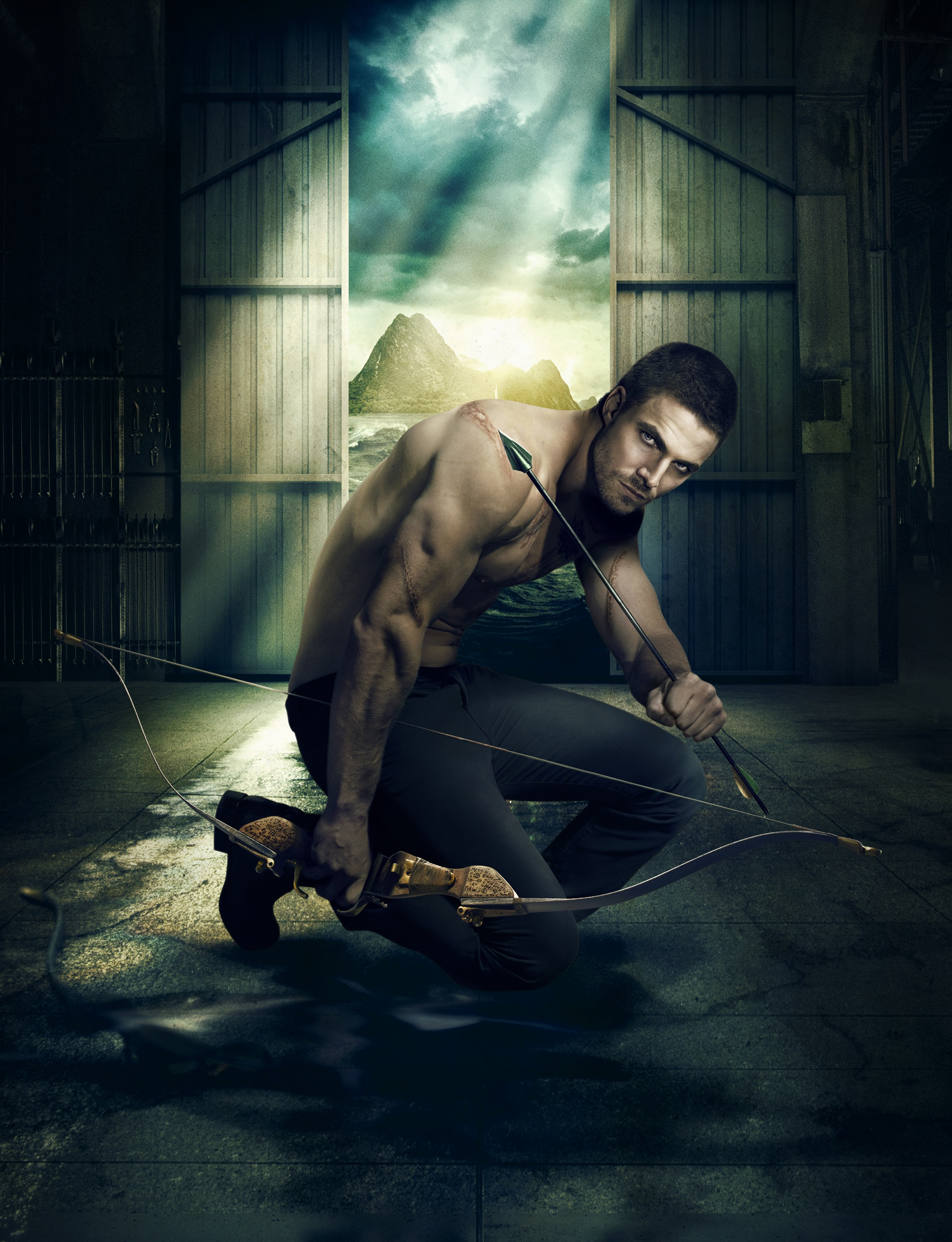 Arrow promo - A heroic future forged by a tortured past - textless.png