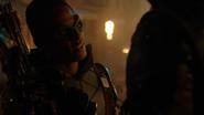 Green Arrow (Connor Hawke) fight Deathstroke (Grant Wilson) (11)