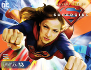 Adventures of Supergirl chapter 13 cover