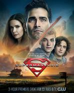 Superman & Lois, T1 pôster - Salvar o mundo começa em casa
