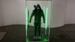 Green Arrow suits (Earth-Prime).png