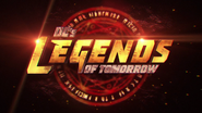 DC's Legends of Tomorrow season 4 title card