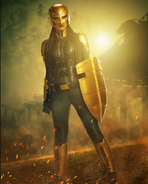 Prévia de Kelly Olsen como Guardiã